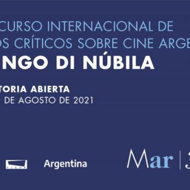 """9º Edición del Concurso Internacional de Estudios Críticos sobre Cine Argentino """"Domingo Di Núbila"""""""
